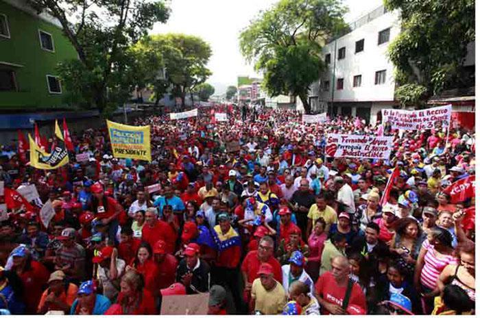venezuela marcha por la paz