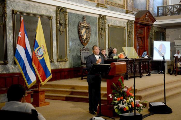 La Universidad de la Habana otorga el Honoris Causa en Economia Politca