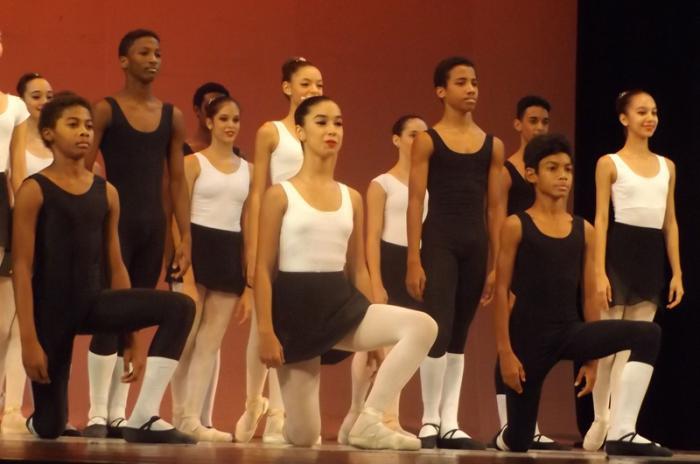 Funciones de la graduación del nivel elemental de ballet. Foto: