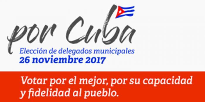 Resultado de imagen para eleccion delegados cuba