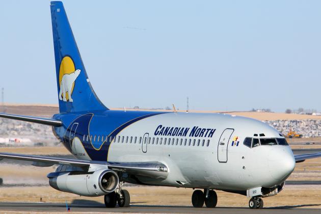 Avión Boeing 737-200.