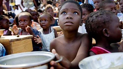 Más de 20 millones de personas están al borde de la muerte segura por inanición en África.