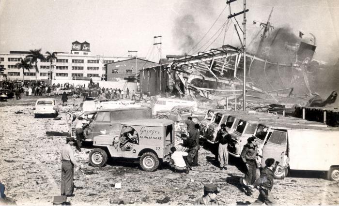 Explosion de La Coubre. (Contrarrevolucion02)Actc0230