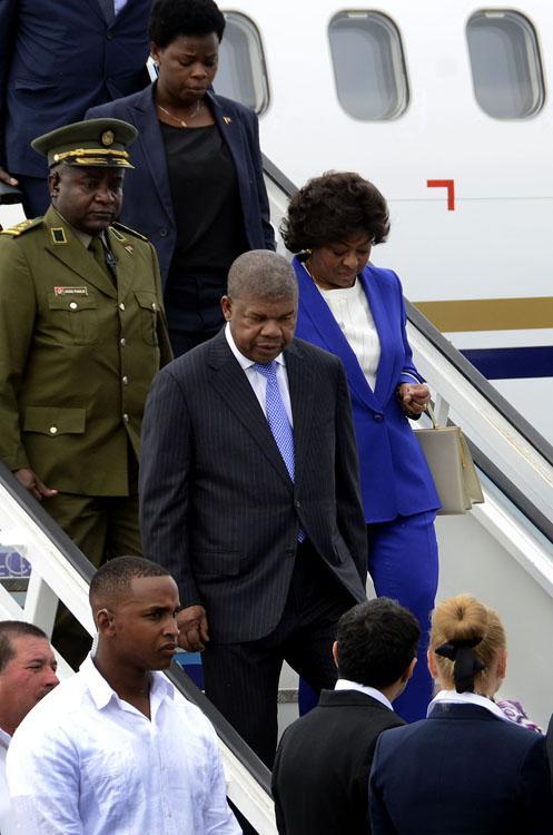 Arribó a La Habana, en visita oficial, el presidente de la República de Angola, João Manuel Gonçalves Lourenço.