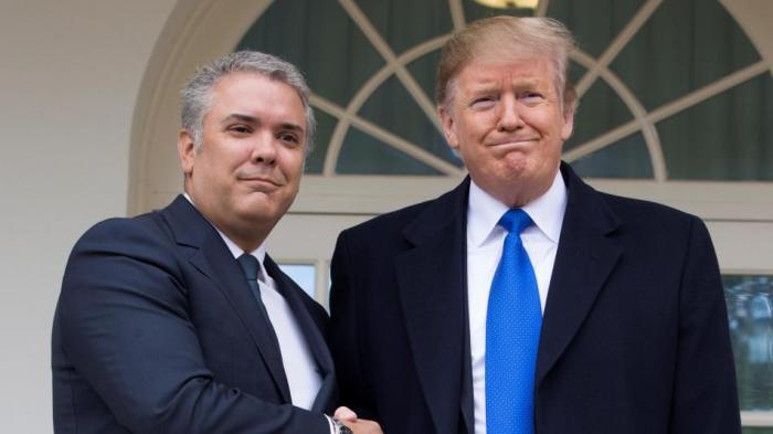Ivan Duque y Donald Trump