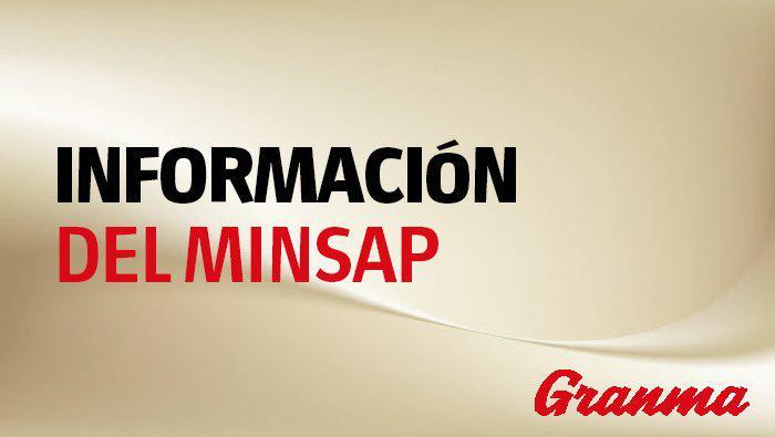 Información del Minsap