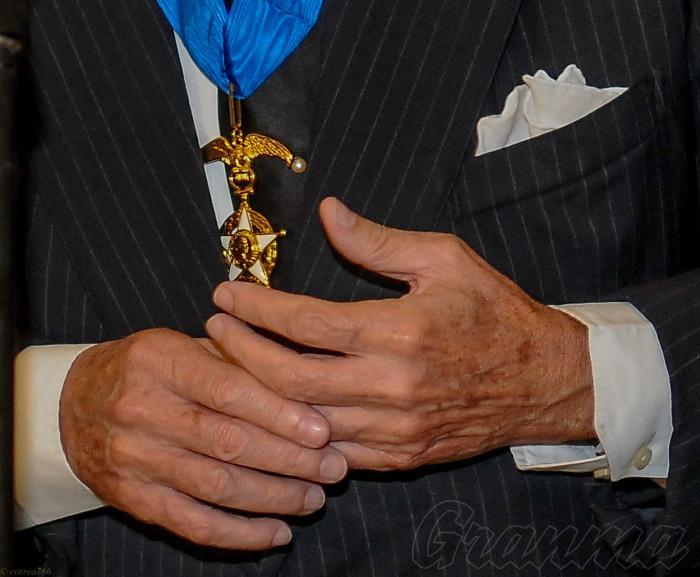 Eusebio Leal Spengler, Historiador de la Ciuda, recibe la