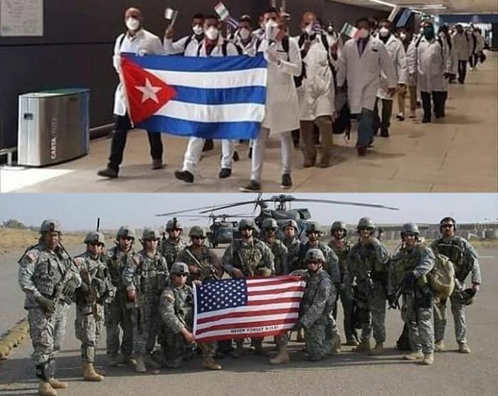 «Nosotros insistimos en que se trata de una calumnia, de una injuria contra Cuba, y de que el Secretario de Estado deliberadamente miente al calificar a Cuba como un país patrocinador del terrorismo», afirmó Fernández de Cossío. fotocomposición tomada de internet