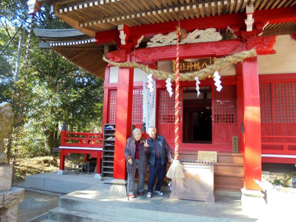初詣 2017 南大沢・八幡神社