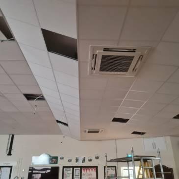 School Hall Ceiling