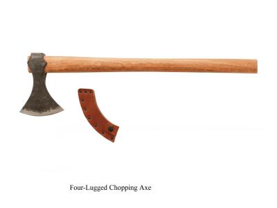 Four Lugged Chopping Axe