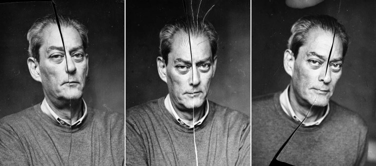 Paul Auster - Scratching Triptych I (2009)