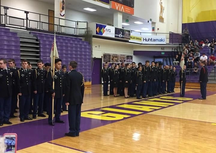 Marion High School JROTC Program Hosts Veterans Day Ceremony