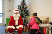 Grant County YMCA Hosts Breakfast With Santa
