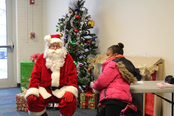 Grant County YMCA Hosts Breakfast With Santa