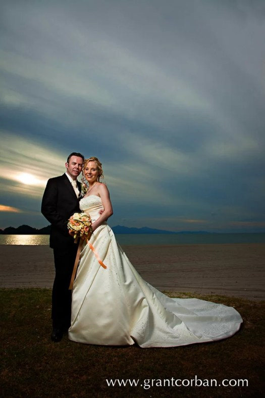 Beautiful wedding portraits at the Four Seasons Langkawi