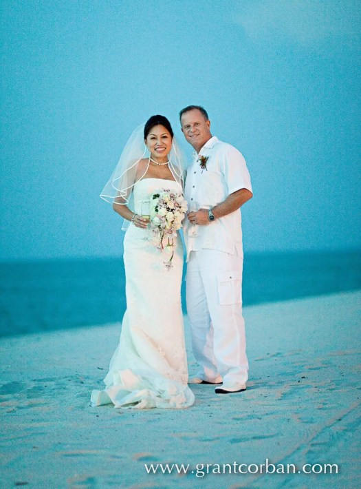 Wedding Portraits on the Beach at the Four Seasons Langkawi