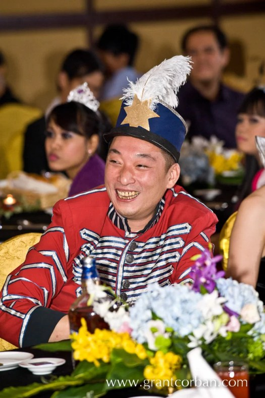 Transmarco Hush Puppies malaysia annual corporate dinner and awards night at sunway lagoon resort with fancy dress theme