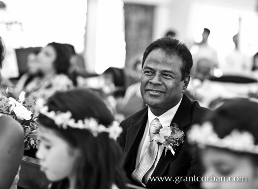 Father of Bride at wedding in Lady Of Fatima in Brickfields