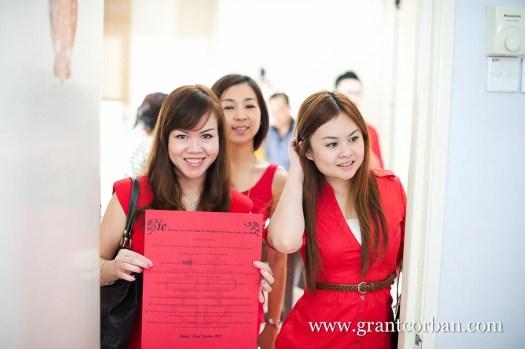 Chinese Wedding Bargaining and Tea Ceremony in Petaling Jaya