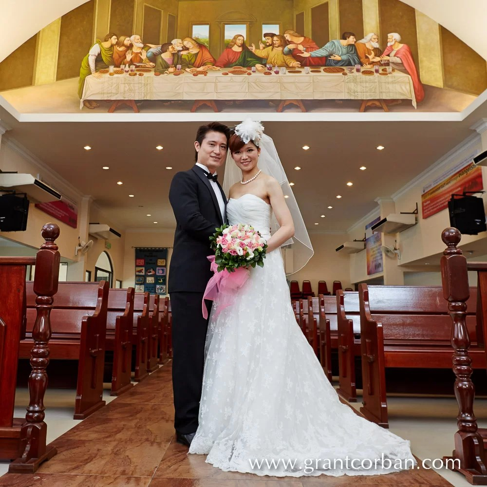 Smallest Wedding Ever In St Barnabas Church Klang