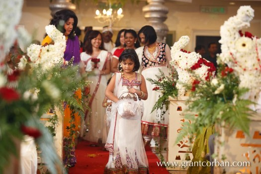 Sri Balathandayuthapani hindu temple wedding flower girl