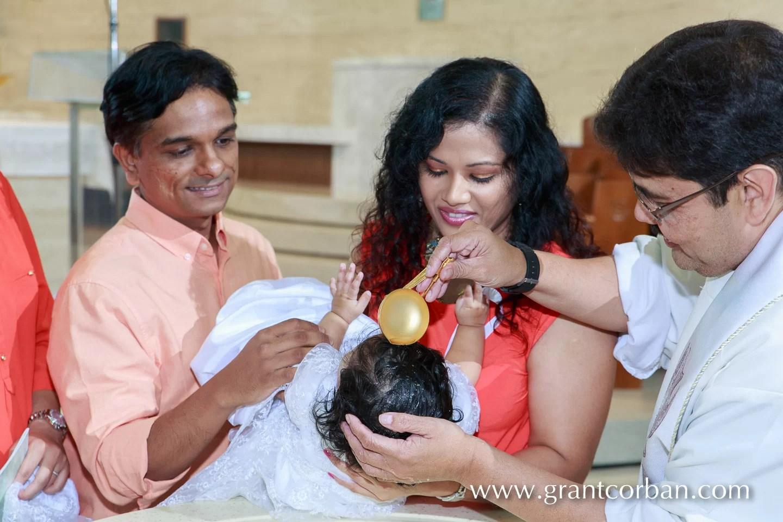 Baptism at St Thomas More Church in Subang