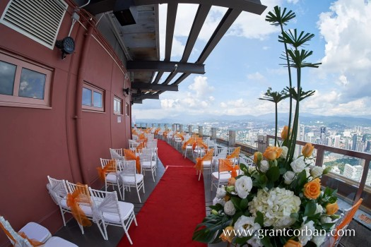 Menara KL wedding