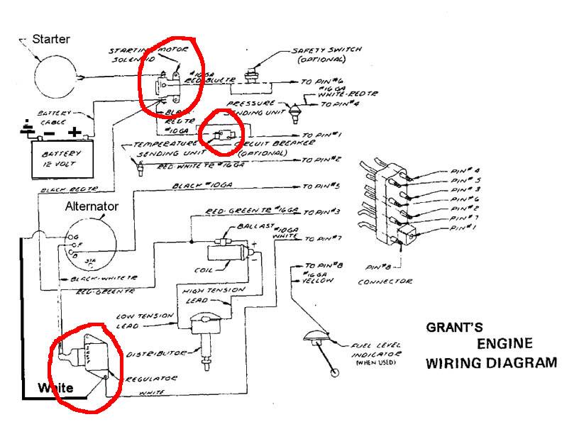 Engine, Grant MacLaren's 1972 Correct Craft Skier