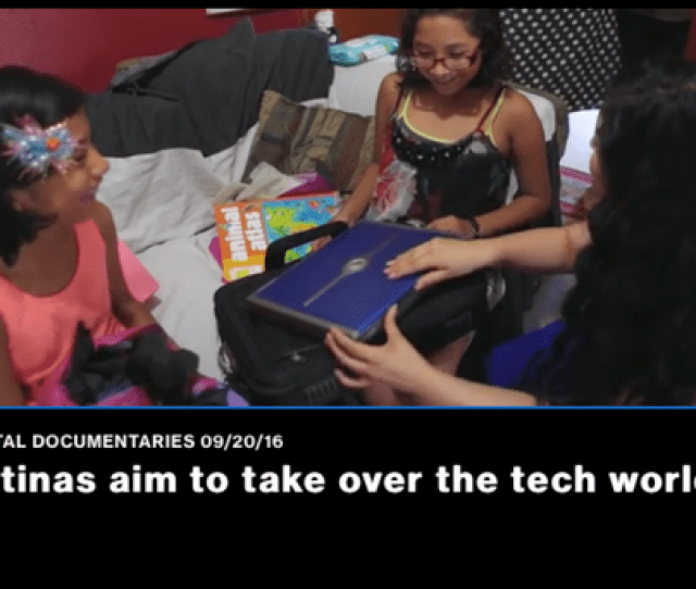 Latina Girls Code Trains Empowers Young Women For Tech Careers