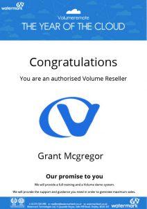 watermark certificate