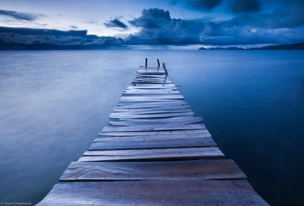 Lake Dock Photography