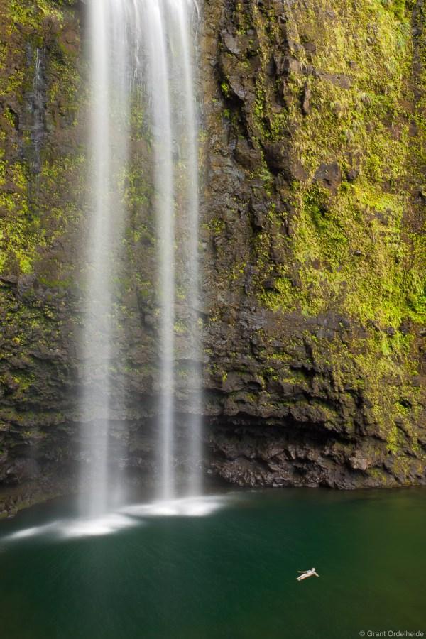 Kauai Kalalau Trail Waterfall