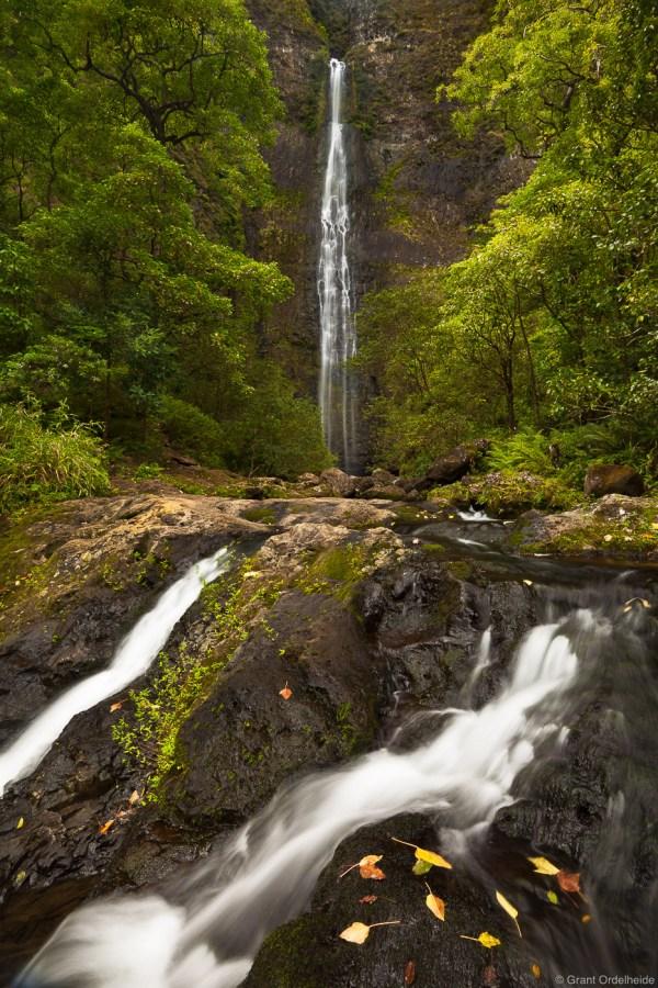 Na Pali Coast Waterfall Kauai Hawaii