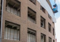 Television Centre, first Brick Faced Precast panels ...