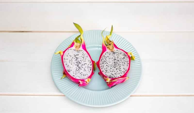 cuisine dragon fruit exotic food