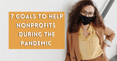 7 Goals to Help Nonprofits During the Pandemic