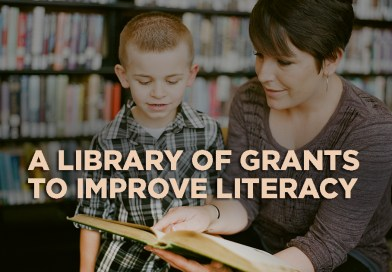 Five Grants for U.S. Libraries and Literacy Programming
