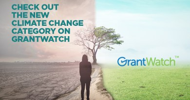 Check Out the New Climate Change Category on GrantWatch