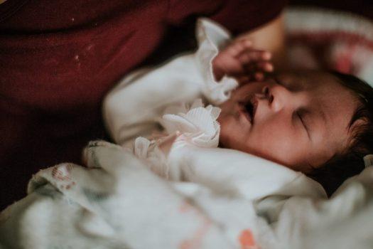 Granujas Crianza sostenible bebé con respiracion oral