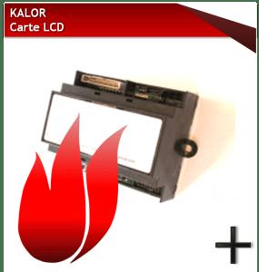 pieces kalor carte lcd