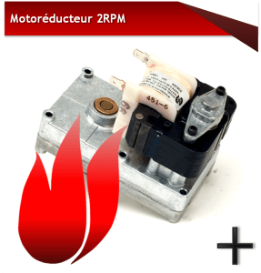 MOTOREDUCTEUR 2 RPM