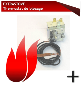 EXTRASTOVE THERMOSTAT