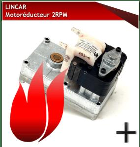 PIÈCES LINCAR MOTOREDUCTEUR 2 RPM