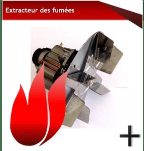 Pièces skia extracteur
