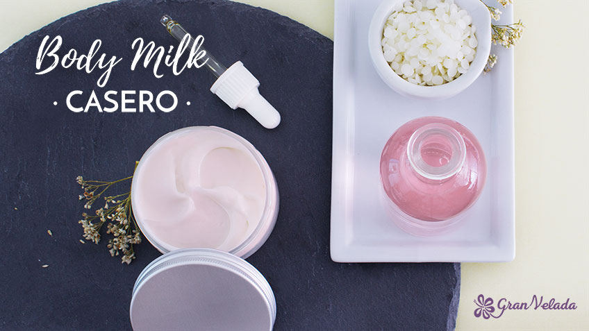 Body milk casero