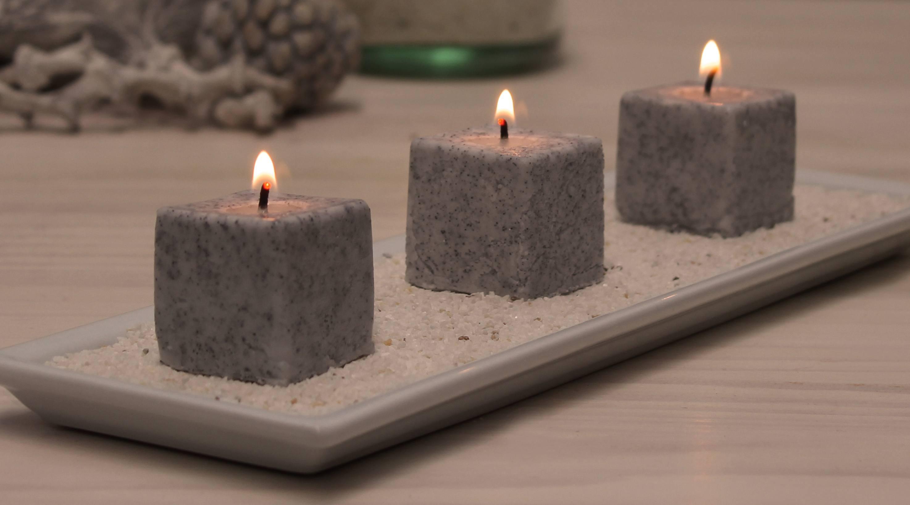Como hacer velas aspecto piedra en casa de una forma sencilla for Como construir una casa de piedra