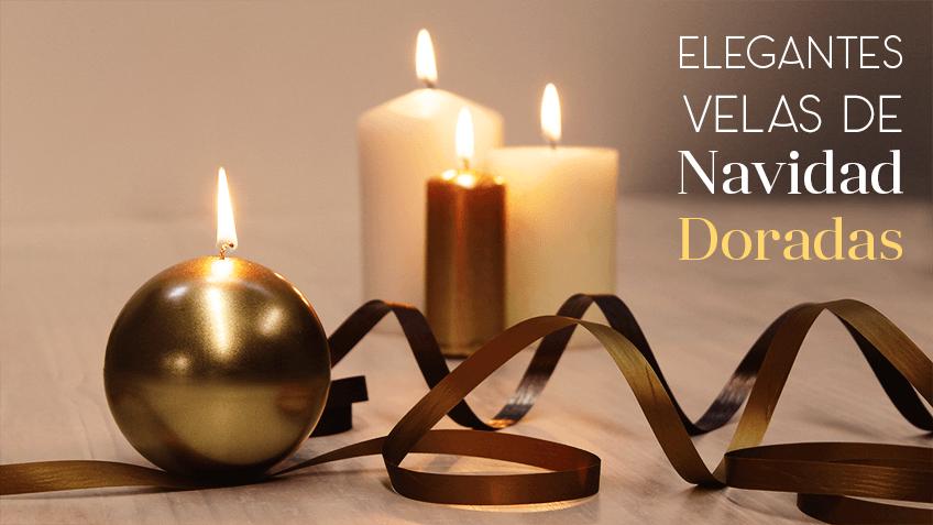 Te Gustan Las Velas Navidenas En Granvelada Aprenderas A Hacerlas - Decorar-velas-con-servilletas