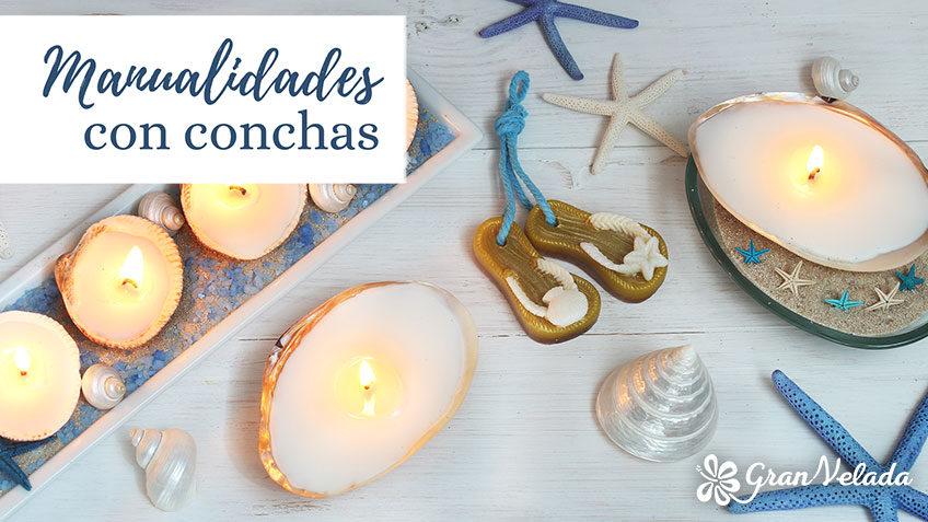 Manualidades con conchas de mar para decorar tu hogar - Manualidades con conchas ...