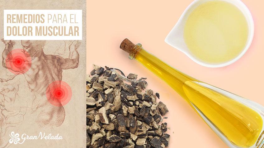 5 Remedios caseros para el dolor muscular